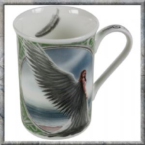 Mug~'Spirit Guide' Angel Mug Gift Boxed - Anne Stokes Design~By Folio Gothic Hippy NOW9733